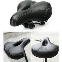 Comfort Extra Wide Big Bum Mountain Bike MTB Bicycle Sporty Soft Pad Saddle Seat