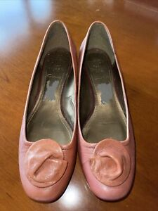 Nice Quality leather Shoes by Clark's. Size 5.5, Worn Once.