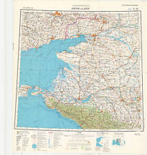 Russian Soviet Military Topographic Maps – ROSTOV-ON-DON (Russia), ed. 1984