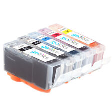 5 Ink Cartridges to replace Canon PGI-520 & CLI-521 (Set) Compatible