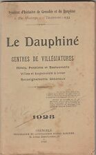 1923 DAUPHINE GRENOBLE GUIDE