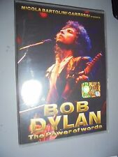 DVD BOB DYLAN THE POWER OF WORDS  ITALIANO ENGLISH