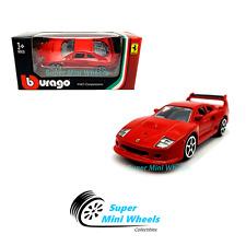 Bburago 1:64 Ferrari F40 Competizione ( Red ) Race & Play 2019 Brand New
