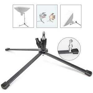 Backlight Stand Base Holder 100mm 3 Legs Feet Support Screw Adapter Photo Studio