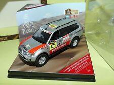 MITSUBISHI PAJERO SPORT RALLYE DU PARIS DAKAR 2012 Team Car VITESSE 43462 1:43