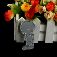 1Pc Pray Boy Design Metal Cutting Die For DIY Scrapbooking Album Paper Cards HU