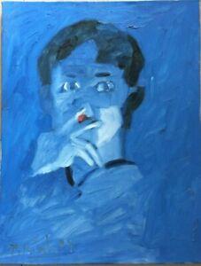Portrait  Orig oil  painting  Vu Thai Binh b 1976 grad 2001 Germany2017