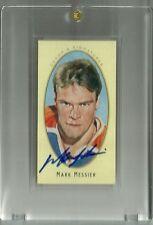 2011-12 Upper Deck Parkhurst Champions Champs Mini Autograph Mark Messier SP