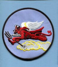 302nd TUSKEGEE AIRMAN WW2 ARMY AIR CORPS P-51 MUSTANG Fighter Squadron Patch