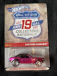 Hot Wheels 19th Annual Collectors Nationals Custom Camaro #416 of 5000