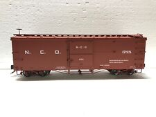 Accucraft 1:20.3 Narrow Gauge Box Car N.C.O