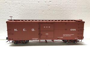 Accucraft 1:20.3 Narrow Gauge Box Car N.C.O AM202-04