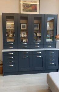 Large cabinet for China or Kitchen Dresser