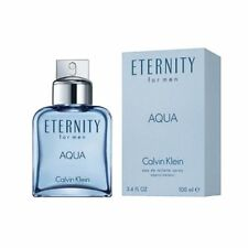 Eternity Aqua For Men by Calvin Klein 100ml  3.4OZ EAu De Toilette Spray  New