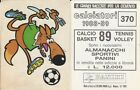 AVELLINO - MASCOTTE N. 370 - ALBUM FIGURINE CALCIATORI PANINI 1988-89 - LEGGI