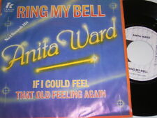 "7"" - Anita Ward Ring my Bell & If i could feel that old feelin - Dutch # 1442"
