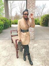 Designer Classy M DaQuin Mink Fur trim coat jacket Stroller Bolero S-M 0-8/10