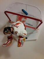 McFarlane NHL Hockey Roman Turek Flames White Jersey Loose Goalie Figure MINT