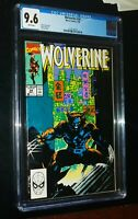 WOLVERINE #24 1990 Marvel Comics CGC 9.6 NM+ White Pages