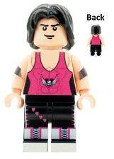 Custom Designed Bret The Hitman Hart Wrestler Printed on LEGO Parts