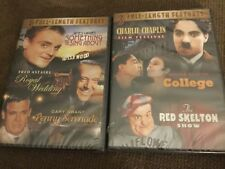 Chaplin, Keaton, Red Skelton & More 6 Full Length Features 2 DVD's brand new