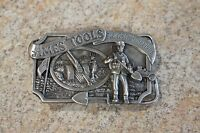 Vintage 1981 Limited Edition SiskiYou Belt Buckle Ames Tools Fights For Freedom