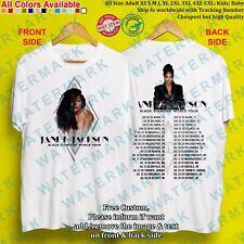 JANET JACKSON - BLACK DIAMOND WORLD TOUR 2020 T-Shirt Adult S-5XL Youth Infants