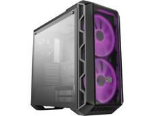 Cooler Master MasterCase H500 ATX Mid-Tower, tempered glass panel, two 200mm RGB