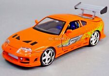 1/24 DieCast TOYOTA SUPRA TURBO Fast & Furious Model Car