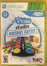 uDraw Studio Instant Artist - Stand Alone (GAME ONLY) XBOX 360 Tested