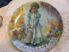 Mother Goose Series Collector Plate Mary Mary 1979 John McClelland Reco