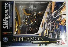 S.H.Figuarts DIGITAL Monster X-evolution Alphamon Action Figure BANDAI NEW