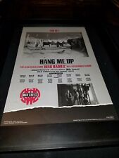 War Babies Hang Me Up Rare Original Radio Promo Poster Ad Framed! #3