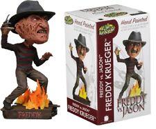 "FREDDY Vs Jason Nightmare on Elm Street Freddy Krueger 7"" Head Knocker NECA"