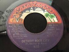 KISS Detroit Rock City / Beth  Casablanca Records 1976