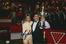 Joe Johnson mano firmado 12X8 Snooker Foto prueba 3.