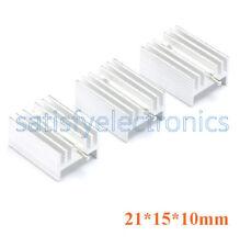 10pcs Diy Heat Sink 21x15x10mm Aluminum Heat Sink To 220 Transistors