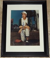 Joe DiMaggio Signed Autographed Framed 8x10 Baseball Photo JSA Auction House LOA