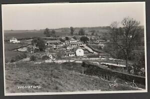 Postcard Upper Woodford nr Salisbury Wiltshire village overview RP