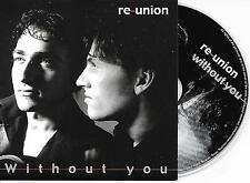 RE-UNION - Without you CD SINGLE 2TR EUROVISION 2004 NETHERLANDS