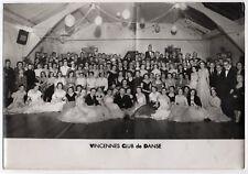 Photo Ancienne Salle de Danse Vincennes Club de Danse A. Suain Vers 1950 1960