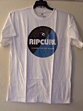 Rip Curl Boys XL White Graphic Short Sleeve Tee T-Shirt Surf Split Master NWT