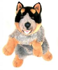 Blue Healer Dog Hand Puppet