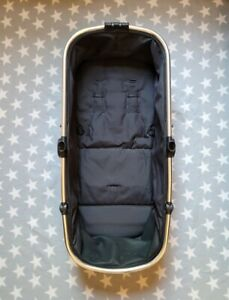 Mothercare Journey Carrycot Seat Unit Frame Bare Sub Black & Chrome