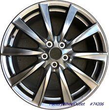 """2008 2009 2010 2011 2012 2013 2014 Lexus IS-F 19"""" Front Left Alloy Wheel 74206"""