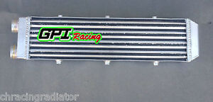 """For Delta Fin Design One Sided Aluminum Intercooler 550x140x70mm 2.2"""" Inlet/out"""