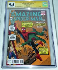 "Amazing Spider-Man #700 CGC SS Signature Autograph STAN LEE ""Death"" Peter Parker"