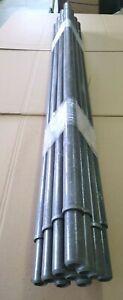 Steckmast Mast  GFK 20 Stangen Rohr Kunststoffpfahl Kunststoffpfähle Pfähle