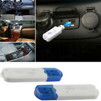 USB Bluetooth Stereo Audio Music Wireless Receiver Adapter For Car Home Speak 0c