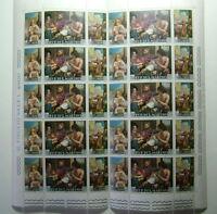 1967 San Marino Minifoglio Guercino 10 Trittici   MNH**